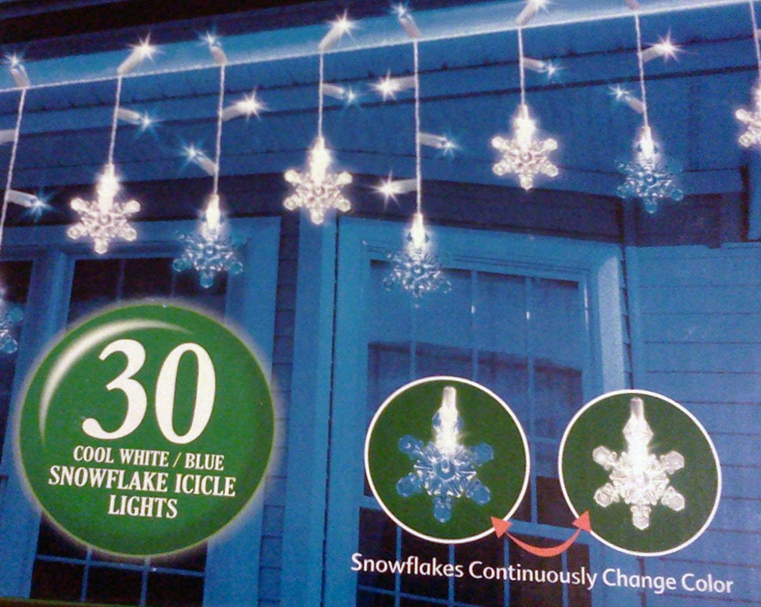 """Purchase the 36"""" Giant 3D Glitter Snowflake, White & Blue ...  