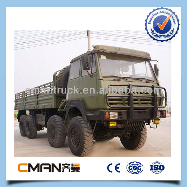 sinotruck howo 8x8 all-wheel drive military army truck for sale