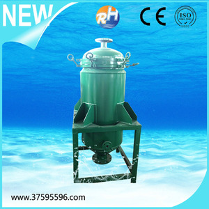 Factory price SS 304 316 ceramic candle filter housing for fruit juice