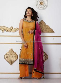 Indian New Designer Salwar Kameez Heavy Work Long Pakistani Salwar ...