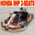 270cc 9HP Road Go Karts with two seats
