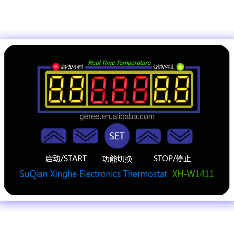 10A 220V Digitaler Temperaturregler Grad Sensor Digital-Thermostat Instrument MT