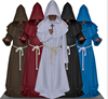 walson Mens Monk Habit Robe Cross Fancy Dress Costume Friar Tuck Halloween Religious