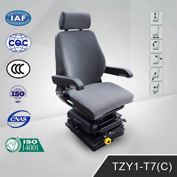 Truck Seats Massage Chair in Gray Cloth TZY1-D8