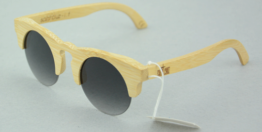 half frame sports bamboo sunglasses 2016