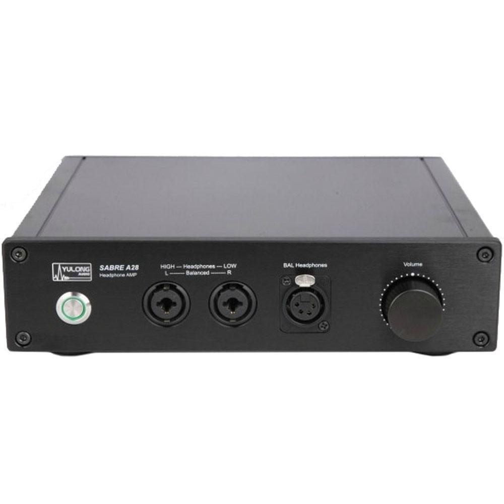Yulong A28 Black Fully Balanced Class A Headphone Amplifier