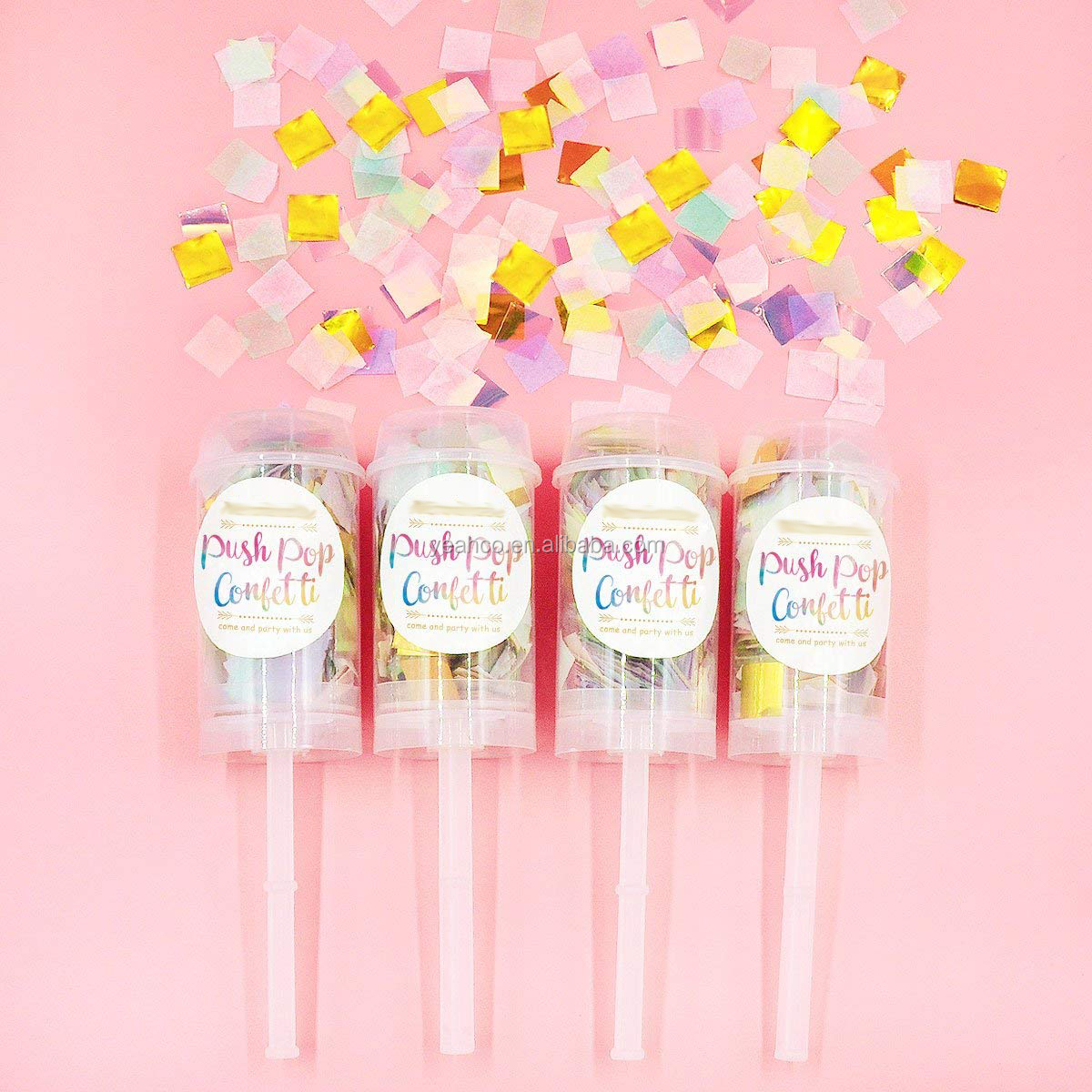 DIY Birthday Decor Party Favor Bride Wedding Poppers Confetti, View ...