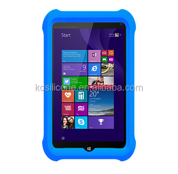 Tablet Shockproof Silicone Cover Case For Hp Stream 8 5801tw 0 8inch Kids Drop Resistance