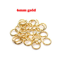 Manufacture jewelry component open jump ring