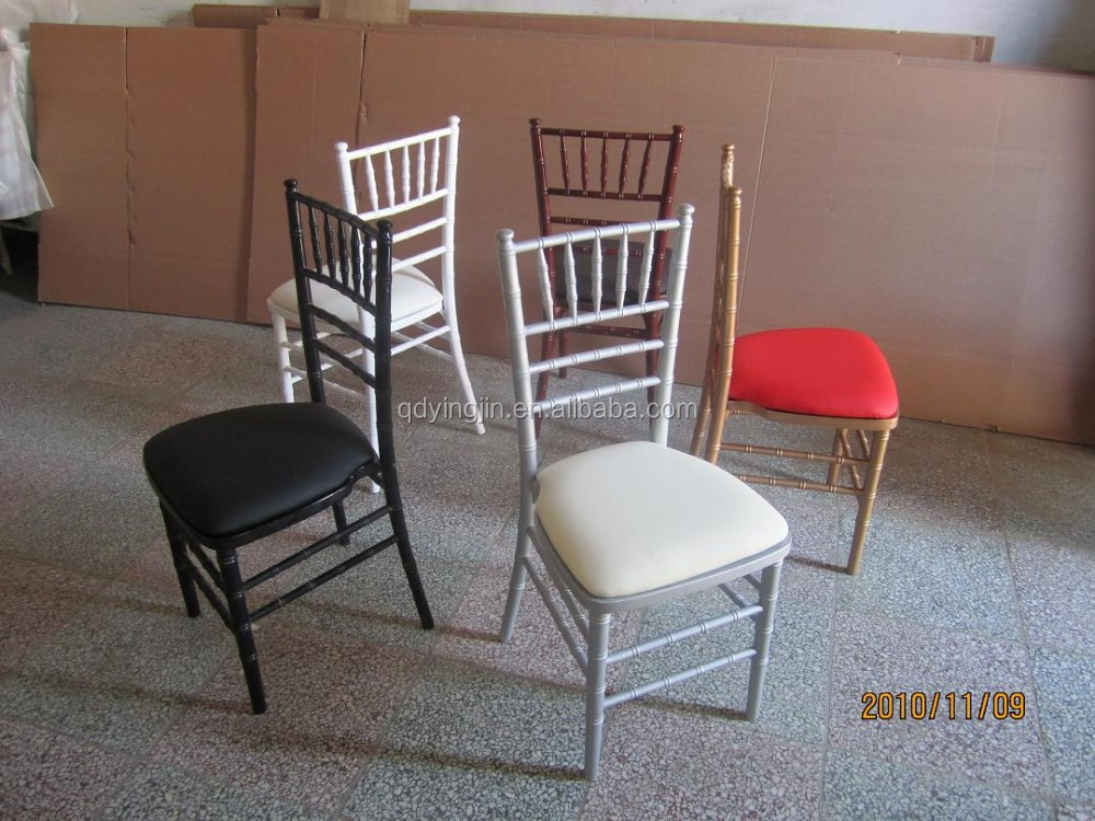 Gold,Black,White,Clear,Silver Tiffany Chairs