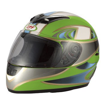 high quality Full face helmet with single visor(ECE/DOT Certification Approved)