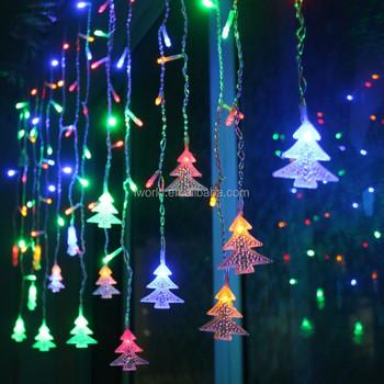 Single Color Rgb Tree Waterproof Decorating Running Led Christmas ...