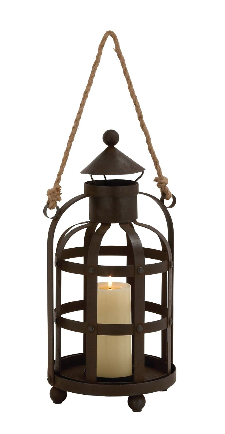 Plutus Brands The Timeless Metal Rope Candle Holder