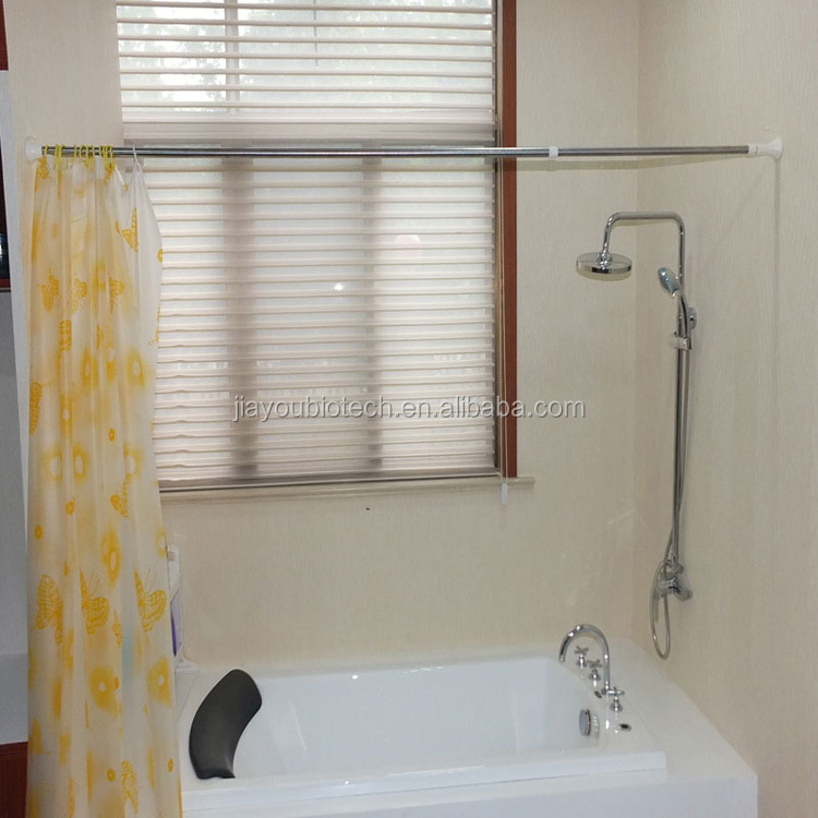 Jyxf Flexible Curved Stainless Steel Shower Curtain Rod Wholesale Jyy 616s Buy Flexible