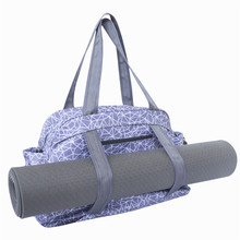 Grande Capacità e Multi Purpose <span class=keywords><strong>Yoga</strong></span> Mat Carry Tote Bag con Tracolla Regolabile
