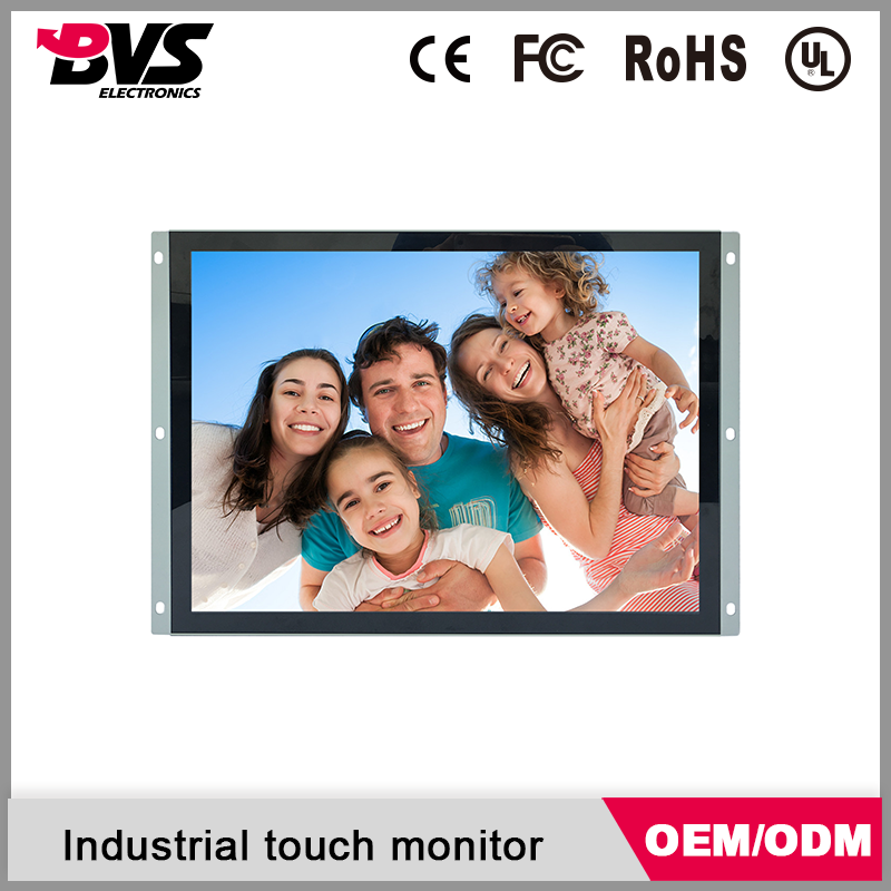 22 inch paper thin industrial lcd monitor with touch screen optional