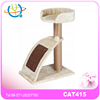 Pet Cat Kitten Climbing Tree Play Furniture Scratching Post Luxury Wooden Cat House Funny Toys