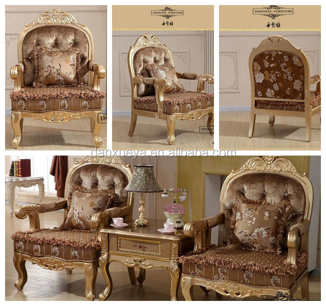 Alibaba Italia Antique Luxury Curved Fabric Sofa Chairs In Living Room