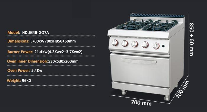 Commercial Stove For Restaurant Gas Stove Dimensions European Gas Stoves