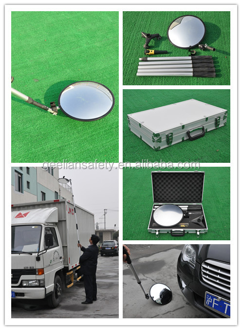 Undercarriage Motorhome Inspection Mirror With Lights
