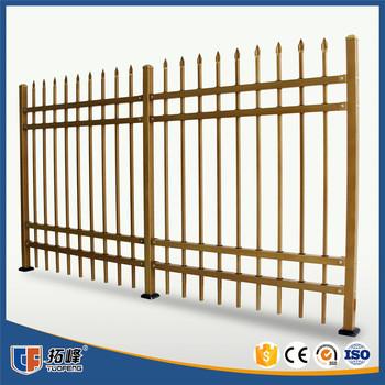 Stahl Verzinkt Lattenzaun China Lieferant Aluminium Schwimmbad Zaun