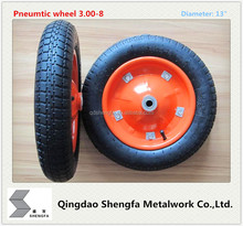 "african 13"" pneumatic rubber wheel 3.00-8"