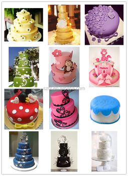 Food Color Gel Americolor For Fondant Cake Decoration - Buy ...