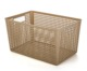 plastic 8L high quality household child toys net laundry collection storage basket box with handle