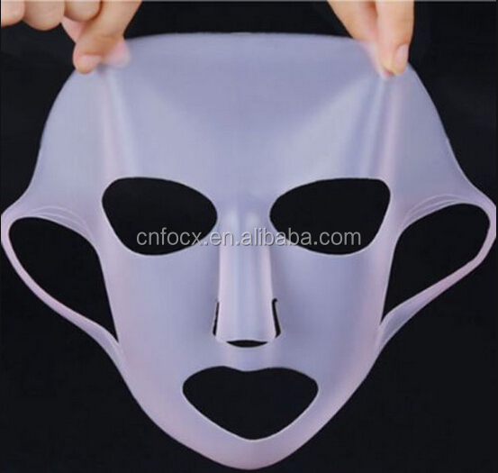 Lady Silicone Facial Mask / Silicone skin care mask / silicone female facial mask