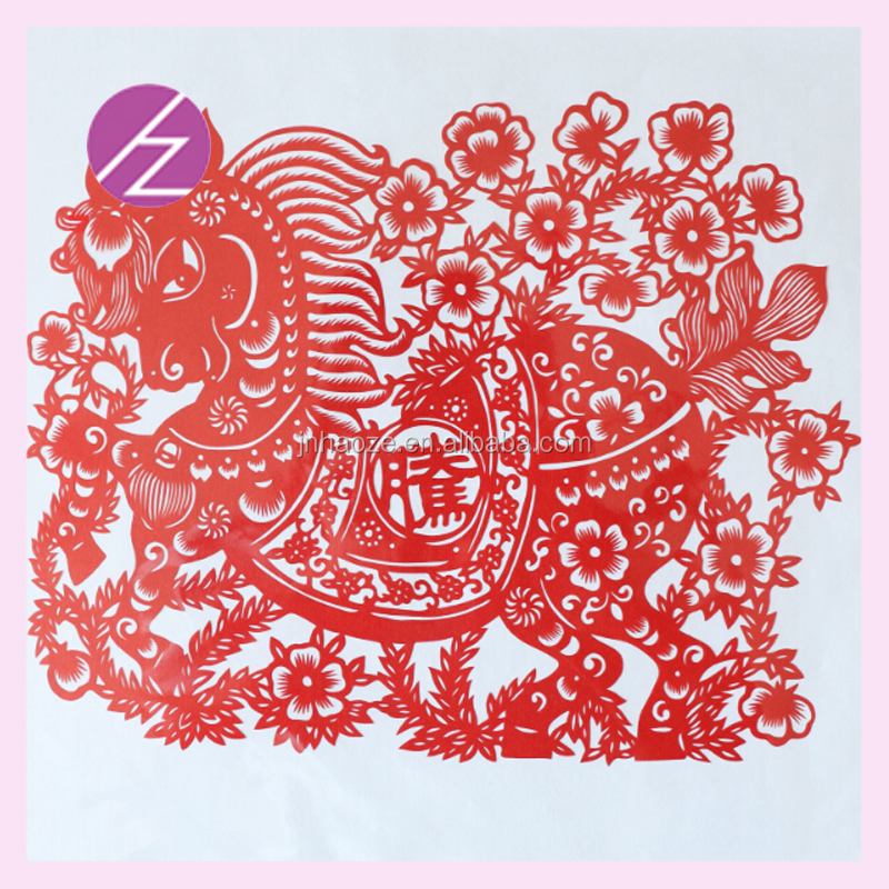 Wedding Decorations Accept Customization Collectibles Paper cutting Pig Of Twelve Zodiac For Gifts