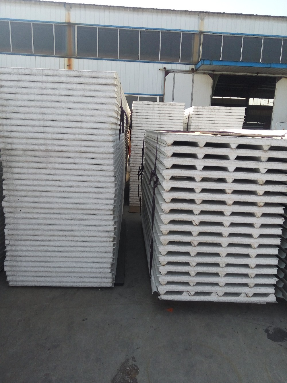 XGZ EPS/rock wool sandwich panel used for wall roof