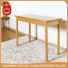 solid oak wood rectangle table study room desk wood table home furniture