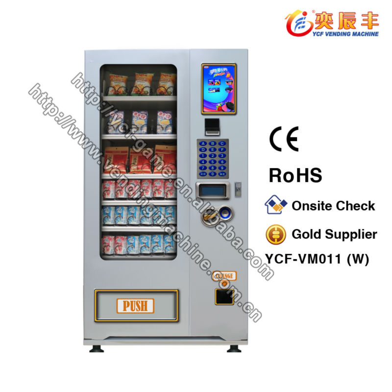 10.4' LCD display automatic milk vending machine/vending machines soft drink