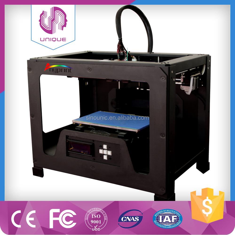 Best effecient cheapest 3D printer frame 3d digital printer with touch screen