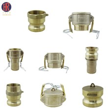 Brass camlcok dc quick connect pipe fittings