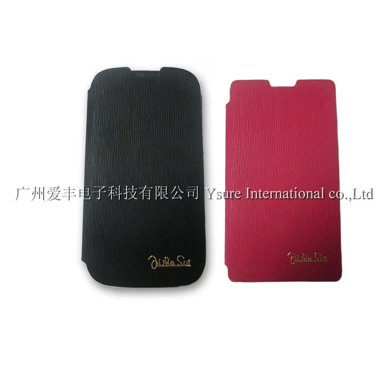 Fashion Flip Leather Case Cover for Samsung S3 i9300