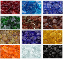 Color Fire Glass Rock for Fire Pit Outdoor Heating