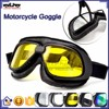 BJ-GT-007 Helmet Motorcycle Goggles with Yellow PC Lens
