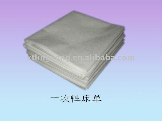Use and throw pp bed sheet bedspread