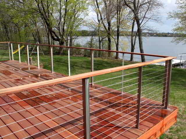 Gelander Holzterrasse Home Ideen