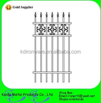 beautiful wrought iron fence panels decorative home garden villa