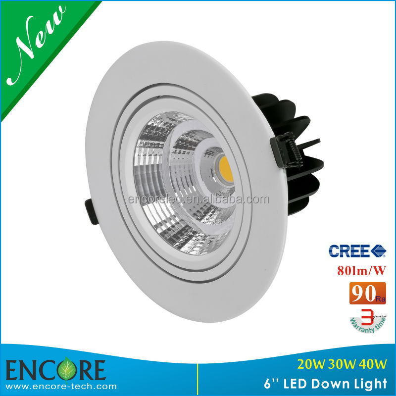 UL certified led downlight surface mounted round downlight led