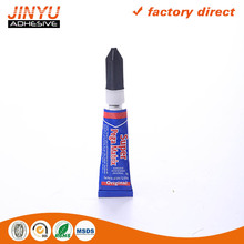 Wlecome OEM ODM 3 seconds quick dry cyanoacrylate glue cross linking agent manufacture