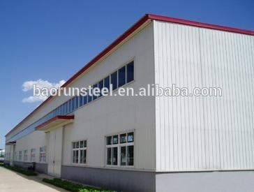 2015 prefabricated steel structure building with chinese Brand
