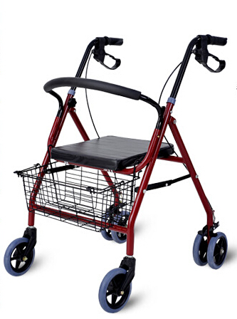Folding walker Rollator with seat
