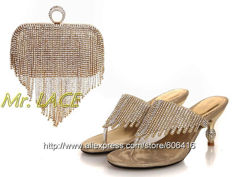 S4046 New arrival shoes and bags for woman with dress,Italian shoes and bags to match, ladies shoes for wedding/party,