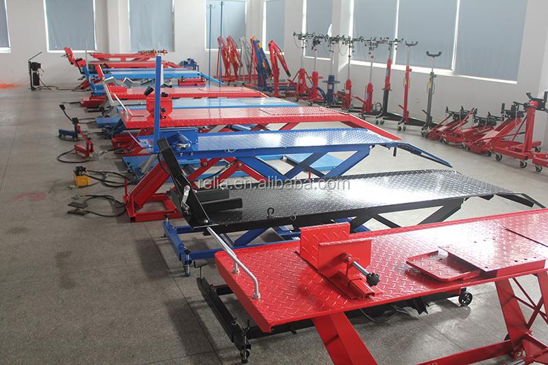 1000 lbs air hydraulique moto ciseaux table l vatrice - Table leve moto hydraulique ...