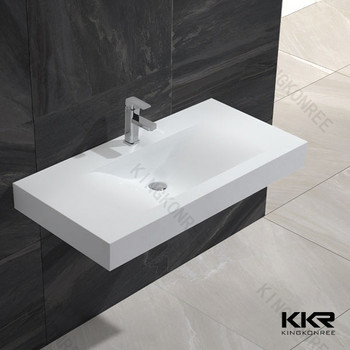 gray stone vanity sinks wash bathroom vessel basins teak