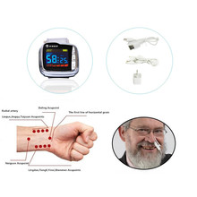 Hypertension and diabetes 10 laser beams and 1 nasal cavity laser beam Multi-function laser physical therapy watch