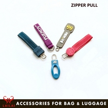 Decorative rope zip pulls custom cord zipper puller for bag